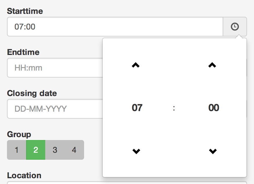 Bootstrap datetimepicker for XPages
