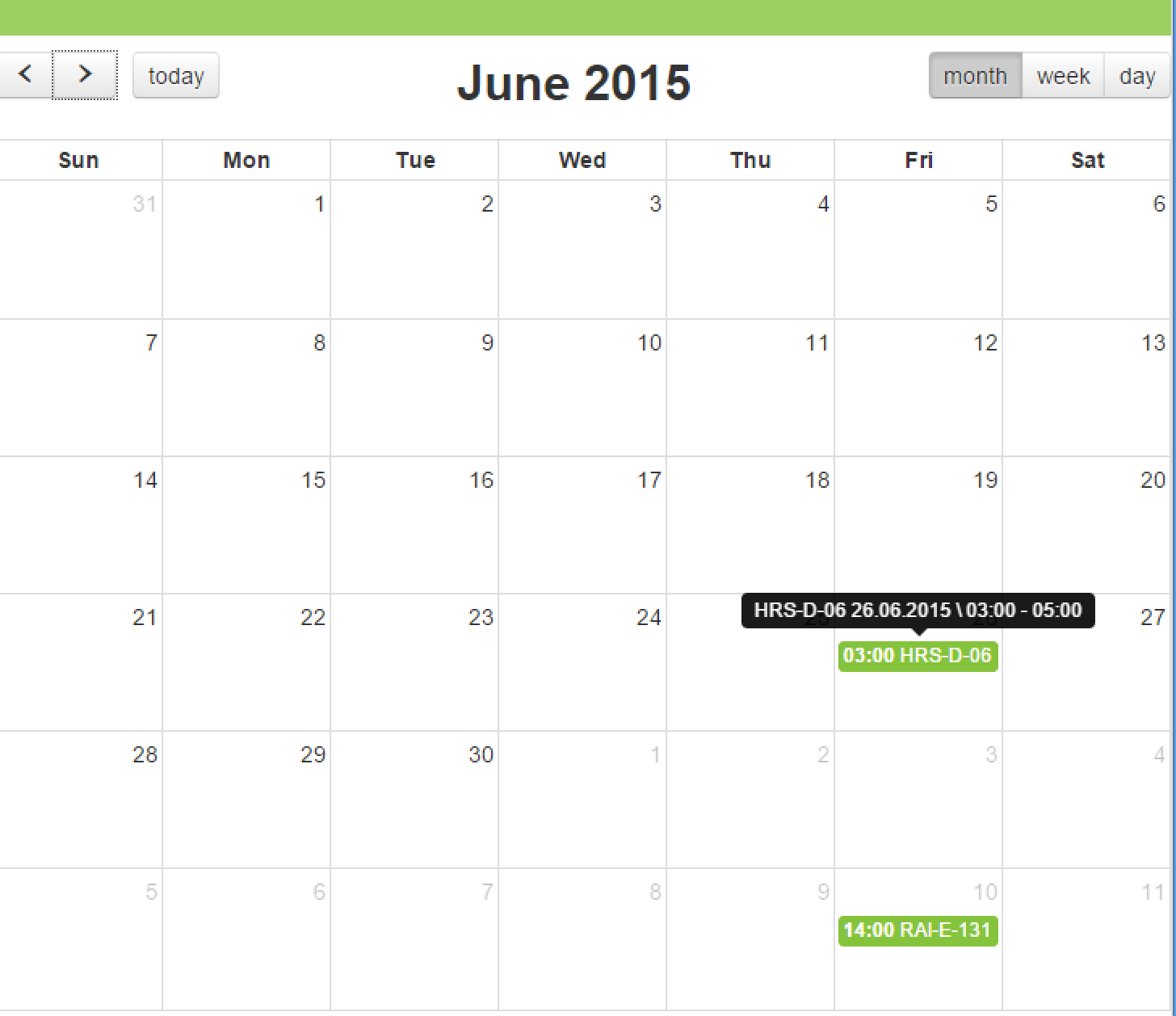 Quick XPages tip: add Fullcalendar plugin to your