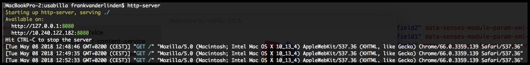 nodejs http-server